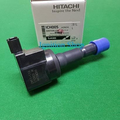 คอยล์จุดระเบิด Honda City Jazz 2008-2013  Freed Brio  ยี่ห้อ Hitachi