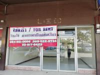 สำนักงานให้เช่า พร้อมแอร์ 1 น้ำ 2 ติดถนนรามคำแหง ปากซอย 162 4X14ม. 12,000 โทร 084 6510086