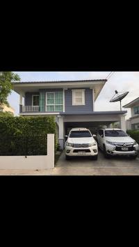 ขายบ้านเดี่ยวแลนด์แอนด์เฮ้าส์ หมู่บ้านวิลลาจิโอ 3ห้องนอน 2ห้องน้ำ