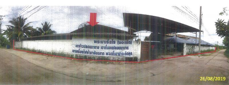 ที่ดินพร้อมสิ่งปลูกสร้างหลุดจำนอง ธ.ธนาคารกรุงไทย นครปฐม เมืองนครปฐม ถนนขาด