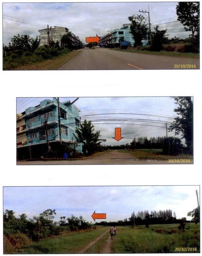 ที่ดินเปล่าหลุดจำนอง ธ.ธนาคารกรุงไทย ชุมพร เมืองชุมพร บ้านนา