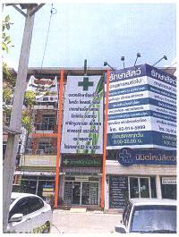 ตึกแถวหลุดจำนอง ธ.ธนาคารกรุงไทย กรุงเทพมหานคร คลองสามวา ทรายกองดิน