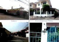บ้านแฝดหลุดจำนอง ธ.ธนาคารกรุงไทย กรุงเทพมหานคร เขตหนองจอก แขวงคู้ฝั่งเหนือ