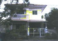 บ้านแฝดหลุดจำนอง ธ.ธนาคารกรุงไทย กรุงเทพมหานคร เขตลาดกระบัง แขวงคลองสองต้นนุ่น