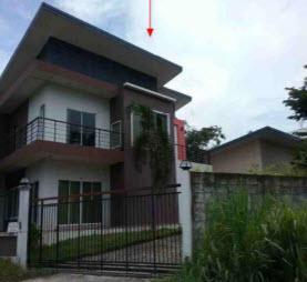 บ้านเดี่ยวหลุดจำนอง ธ.ธนาคารกรุงไทย ชลบุรี พนัสนิคม กุฎโง้ง