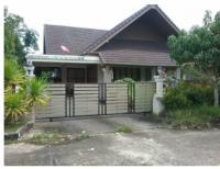 บ้านเดี่ยวหลุดจำนอง ธ.ธนาคารกรุงไทย ชุมพร เมืองชุมพร ตากแดด