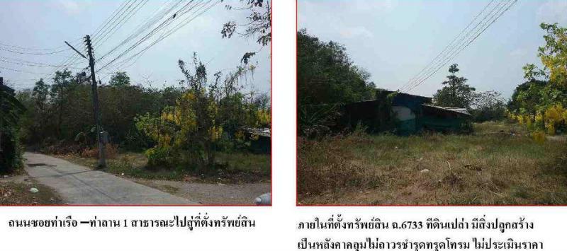 ที่ดินเปล่าหลุดจำนอง ธ.ธนาคารกรุงไทย พระนครศรีอยุธยา ท่าเรือ จำปา