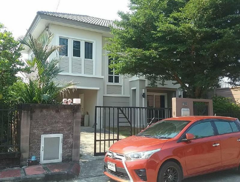 บ้านเดี่ยวหลุดจำนอง ธ.ธนาคารกรุงไทย นนทบุรี อำเภอบางใหญ่ ตำบลบางม่วง