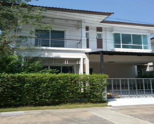 บ้านแฝดหลุดจำนอง ธ.ธนาคารกรุงไทย นนทบุรี บางใหญ่ เสาธงหิน