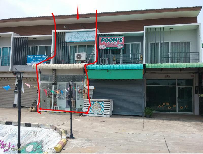 อาคารพาณิชย์หลุดจำนอง ธ.ธนาคารกรุงไทย อุดรธานี อำเภอกุมภวาปี ตำบลพันดอน