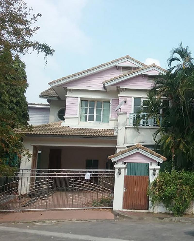 บ้านเดี่ยวหลุดจำนอง ธ.ธนาคารกรุงไทย กรุงเทพมหานคร เขตคลองสามวา แขวงบางชัน
