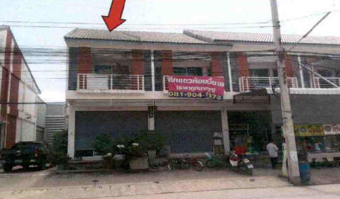อาคารพาณิชย์หลุดจำนอง ธ.ธนาคารกรุงไทย สมุทรปราการ บางบ่อ บางเพรียง