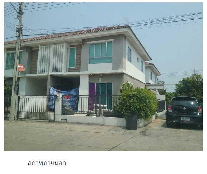 ทาวน์เฮ้าส์หลุดจำนอง ธ.ธนาคารกรุงไทย ปทุมธานี เมืองปทุมธานี บางกะดี