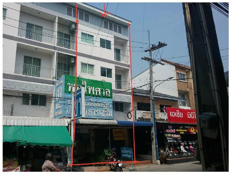อาคารพาณิชย์หลุดจำนอง ธ.ธนาคารกรุงไทย ชลบุรี อำเภอศรีราชา ตำบลหนองขาม
