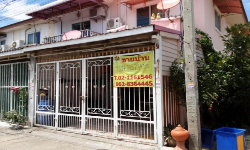 ทาวน์เฮ้าส์หลุดจำนอง ธ.ธนาคารกรุงไทย นนทบุรี บางบัวทอง บางรักพัฒนา