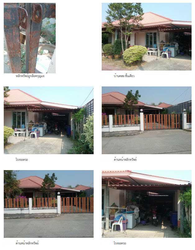บ้านเดี่ยวหลุดจำนอง ธ.ธนาคารกรุงไทย ตาก เมืองตาก น้ำรึม