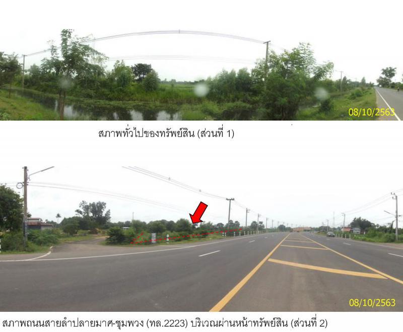 ที่ดินเปล่าหลุดจำนอง ธ.ธนาคารกรุงไทย บุรีรัมย์ ลำปลายมาศ หนองคู