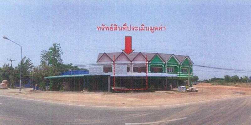 อาคารพาณิชย์หลุดจำนอง ธ.ธนาคารกรุงไทย พิจิตร เมืองพิจิตร เมืองเก่า