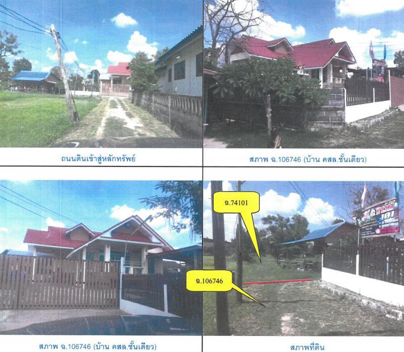 ที่ดินพร้อมสิ่งปลูกสร้างหลุดจำนอง ธ.ธนาคารกรุงไทย ร้อยเอ็ด เมืองร้อยเอ็ด ขอนแก่น