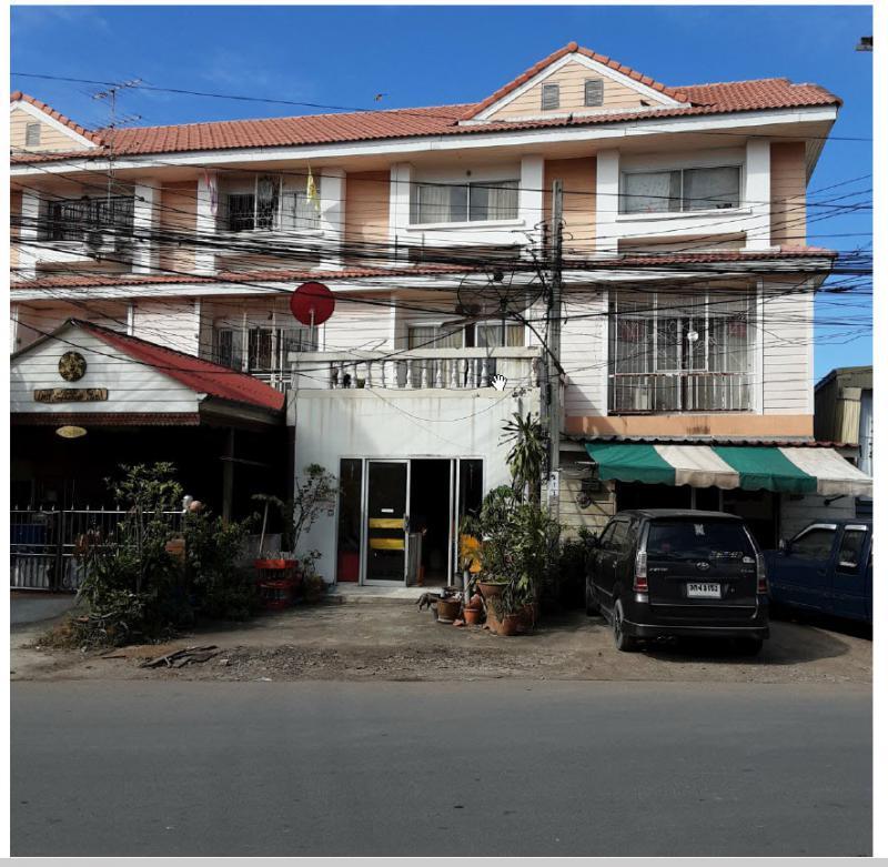 อาคารพาณิชย์หลุดจำนอง ธ.ธนาคารกรุงไทย สมุทรปราการ พระสมุทรเจดีย์ บ้านคลองสวน