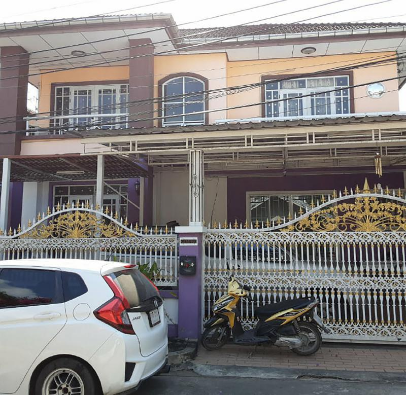 บ้านเดี่ยวหลุดจำนอง ธ.ธนาคารกรุงไทย กรุงเทพมหานคร บางขุนเทียน ท่าข้าม
