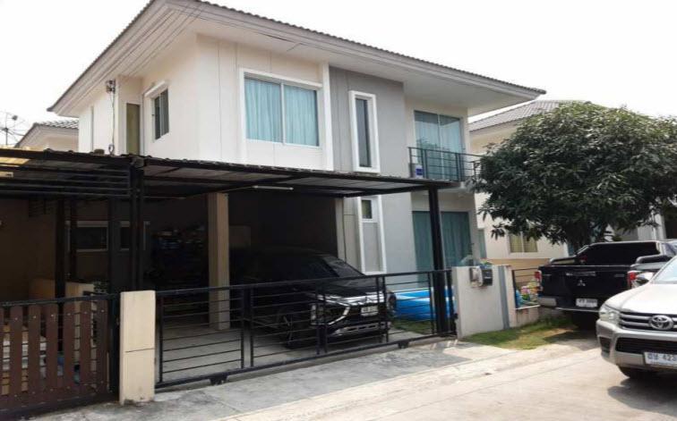 บ้านแฝดหลุดจำนอง ธ.ธนาคารกรุงไทย ปทุมธานี ลำลูกกา บึงคำพร้อย