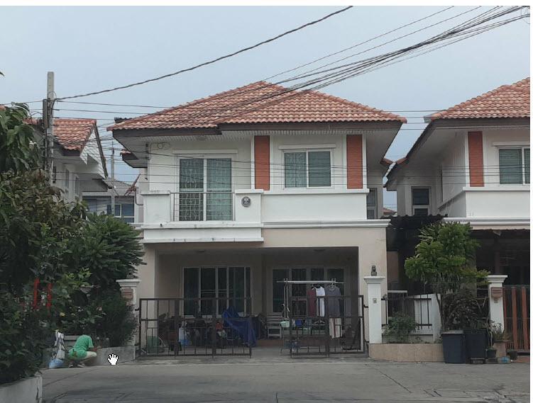 บ้านแฝดหลุดจำนอง ธ.ธนาคารกรุงไทย นนทบุรี เมืองนนทบุรี บางกร่าง
