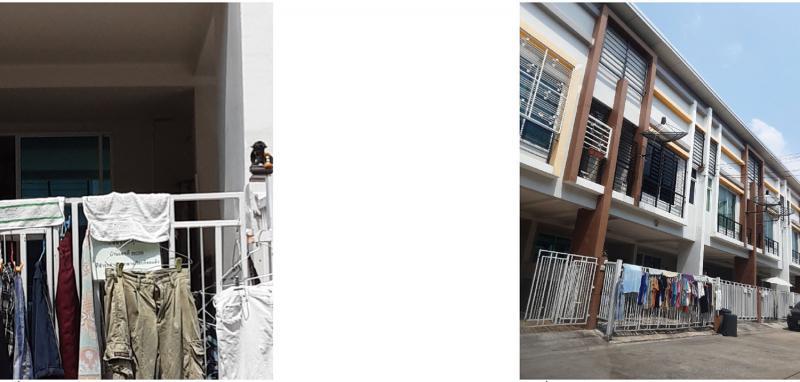 ทาวน์เฮ้าส์หลุดจำนอง ธ.ธนาคารกรุงไทย กรุงเทพมหานคร คลองสามวา บางชัน