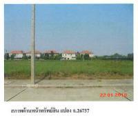 ที่ดินเปล่าหลุดจำนอง ธ.ธนาคารกรุงไทย ปทุมธานี สามโคก ท้ายเกาะ