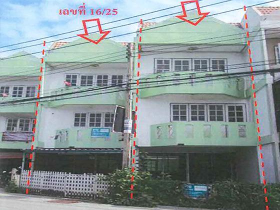 ทาวน์เฮ้าส์หลุดจำนอง ธ.ธนาคารทหารไทย ปทุมธานี เมืองปทุมธานี บางปรอก