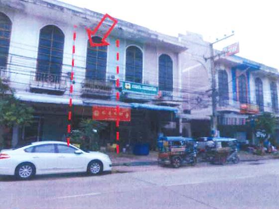 อาคารพาณิชย์หลุดจำนอง ธ.ธนาคารทหารไทย อุดรธานี เมืองอุดรธานี หมากแข้ง