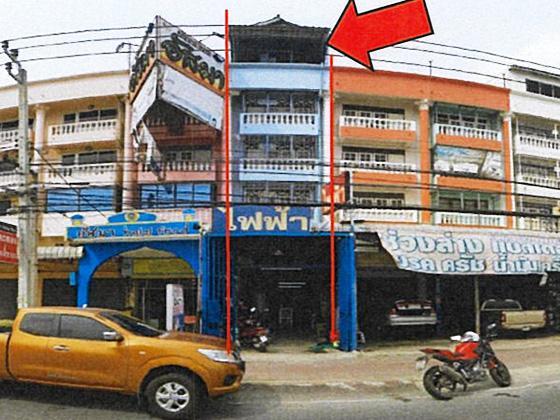 อาคารพาณิชย์หลุดจำนอง ธ.ธนาคารทหารไทย นนทบุรี เมืองนนทบุรี บางกร่าง