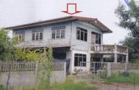 บ้านเดี่ยวหลุดจำนอง ธ.ธนาคารอาคารสงเคราะห์ อุดรธานี น้ำโสม สามัคคี