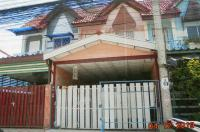 ทาวน์เฮ้าส์หลุดจำนอง ธ.ธนาคารอาคารสงเคราะห์ นนทบุรี บางบัวทอง ละหาร
