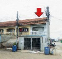 ทาวน์เฮ้าส์หลุดจำนอง ธ.ธนาคารอาคารสงเคราะห์ สมุทรปราการ พระสมุทรเจดีย์ ในคลองบางปลากด