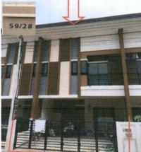 ทาวน์เฮ้าส์หลุดจำนอง ธ.ธนาคารอาคารสงเคราะห์ นครปฐม สามพราน บางกระทึก