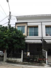 ทาวน์เฮ้าส์หลุดจำนอง ธ.ธนาคารอาคารสงเคราะห์ นนทบุรี บางกรวย วัดชลอ