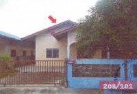 บ้านเดี่ยวหลุดจำนอง ธ.ธนาคารอาคารสงเคราะห์ ชลบุรี บ่อทอง ธาตุทอง