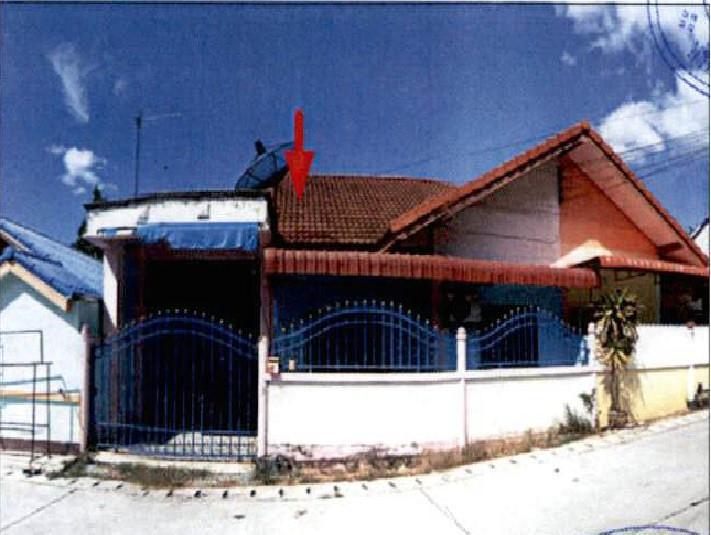 บ้านแฝดหลุดจำนอง ธ.ธนาคารอาคารสงเคราะห์ ระยอง ปลวกแดง ปลวกแดง