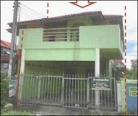 บ้านแฝดหลุดจำนอง ธ.ธนาคารอาคารสงเคราะห์ อ่างทอง เมืองอ่างทอง บ้านอิฐ
