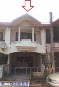 ทาวน์เฮ้าส์หลุดจำนอง ธ.ธนาคารอาคารสงเคราะห์ ชลบุรี เมืองชลบุรี เสม็ด