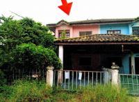บ้านแฝดหลุดจำนอง ธ.ธนาคารอาคารสงเคราะห์ ปทุมธานี ธัญบุรี บึงสนั่น