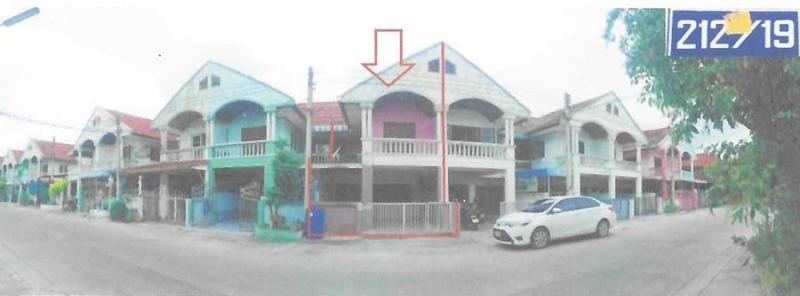 บ้านแฝดหลุดจำนอง ธ.ธนาคารอาคารสงเคราะห์ ราชบุรี บ้านโป่ง เบิกไพร