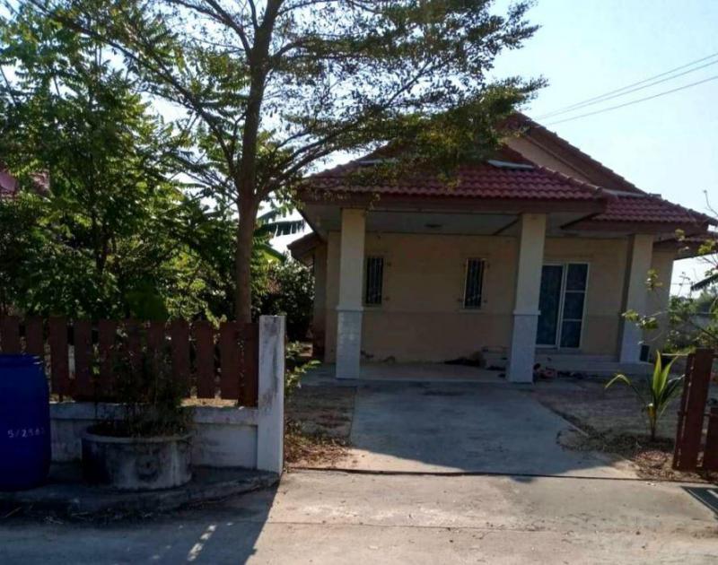 บ้านเดี่ยวหลุดจำนอง ธ.ธนาคารอาคารสงเคราะห์ ศรีสะเกษ ราษีไศล -