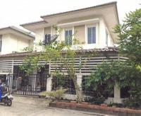 บ้านแฝดหลุดจำนอง ธ.ธนาคารอาคารสงเคราะห์ นนทบุรี บางกรวย บางสีทอง