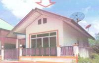 บ้านเดี่ยวหลุดจำนอง ธ.ธนาคารอาคารสงเคราะห์ สงขลา หาดใหญ่ บ้านพรุ