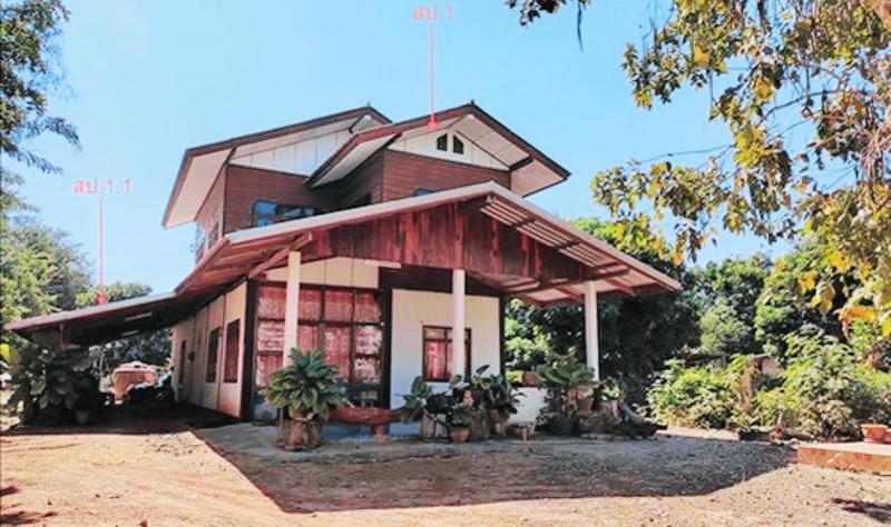 บ้านเดี่ยวหลุดจำนอง ธ.ธนาคารกสิกรไทย กาฬสินธุ์ ห้วยเม็ก พิมูล