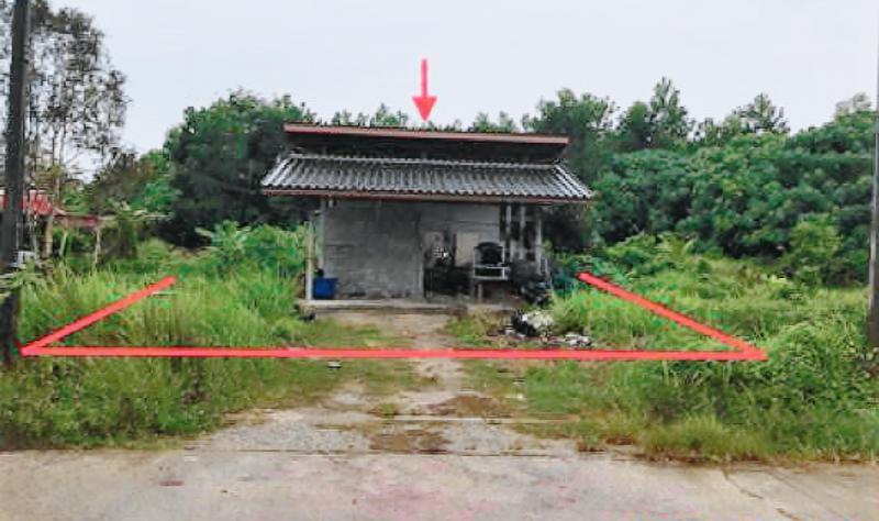 บ้านเดี่ยวหลุดจำนอง ธ.ธนาคารกสิกรไทย กระบี่ เมืองกระบี่ ไสไทย