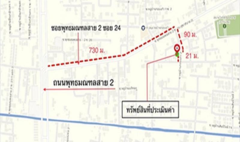 บ้านเดี่ยวหลุดจำนอง ธ.ธนาคารกสิกรไทย กรุงเทพมหานคร ตลิ่งชัน บางระมาด