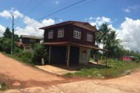บ้านครึ่งตึกครึ่งไม้หลุดจำนอง ธ.ธนาคารไทยพาณิชย์ หนองคาย เมืองหนองคาย พระธาตุบังพวน
